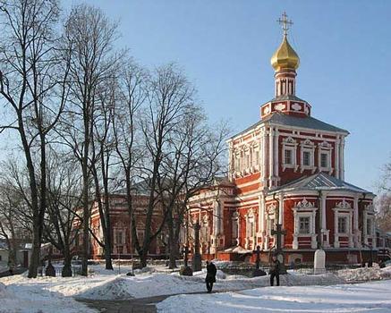 Couvent de Novodievitchi fondé en 1524 à Moscou - Eglise de l'Assomption