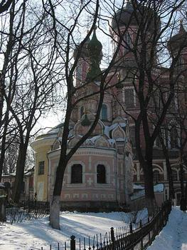 Donskoy Monastery founded in 1591, Moscow part of Monastery: Church of Ioanna Lestvichnika 1898