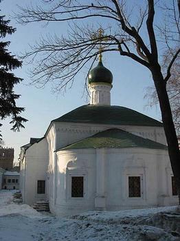 Couvent de Novodievitchi fondé en 1524 à Moscou - Eglise Saint-Amvrosia