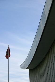 Sowjetischer Pavillion der Expo 1967 in Montreal in Moskau wieder aufgebaut