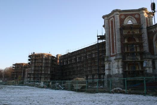 Zarizyno - Wiederaufbau des großen Palastes