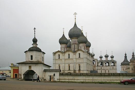 Assumption cathedral 12 century, Kreml. Rostov (Rostov the Great), Yaroslavl Oblast, Russia