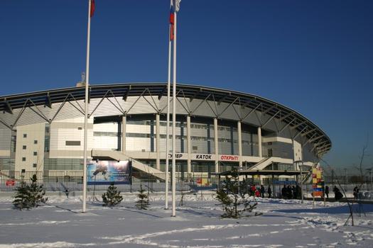 Eislaufhalle in Moskau
