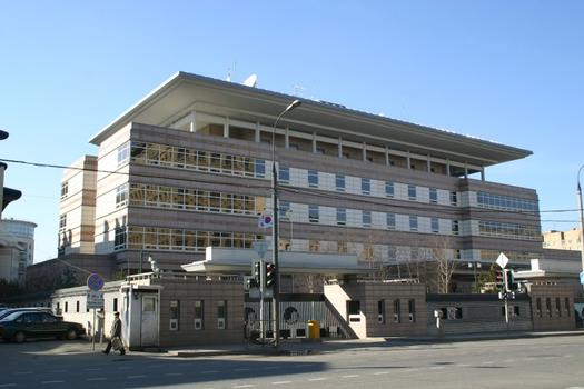 Korean embassy, Moscow
