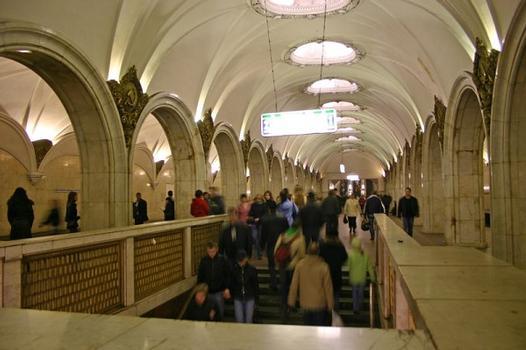 Pawelezkaja-Metrobahnhof, Moskau