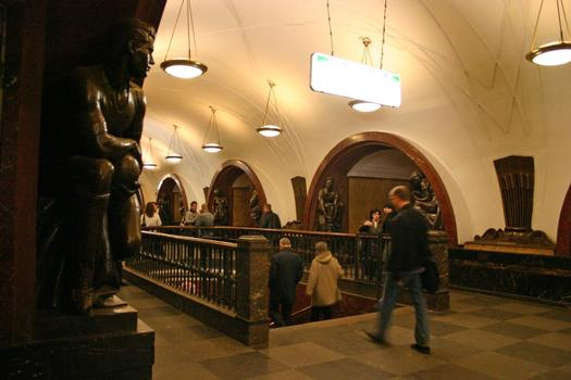 Revolution Square Station, Moscow