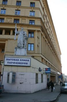 Boulevard Yauzsky 2, Moscou
