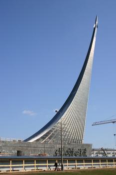 Monument der Eroberer des Weltalls, Moskau