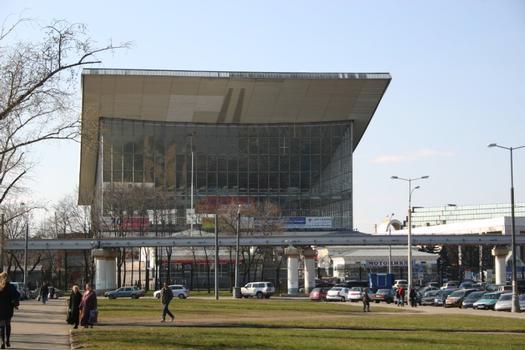 Sowjetischer Pavillion der Expo 1967 jetzt in Moskau
