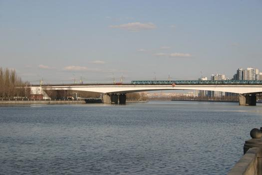Nagatinsky-Brücke, Moskau