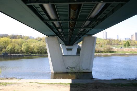 Krilatsky-Brücke, Moskau