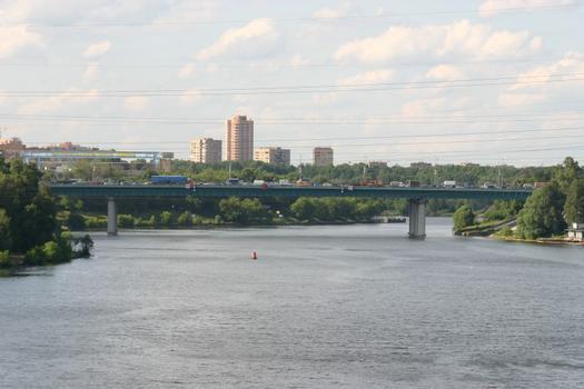 MKAD - Khimkinsky most, Moskau