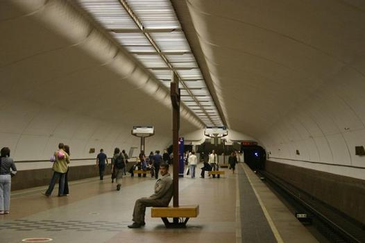 Lublino metro station in Moscow