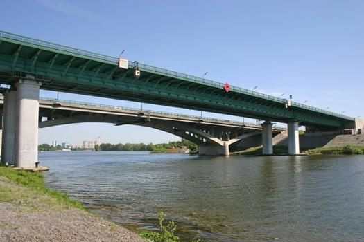 MKAD - Spassky-Brücke, Moskau