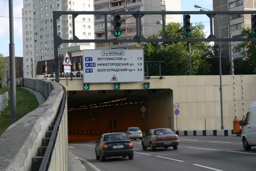 Moskau-Lefortovo-Tunnel