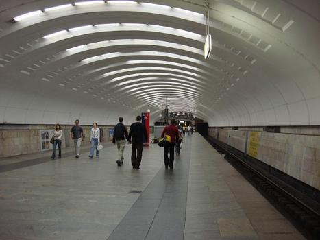 Metrobahnhof Babuschkinskaja, Moskau