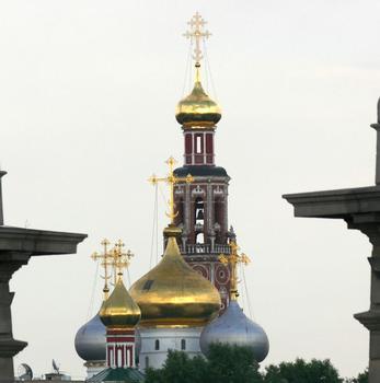 Couvent de Novodievitchi à Moscou - Cathédrale dédiée à l'icône Notre-Dame de Smolensk