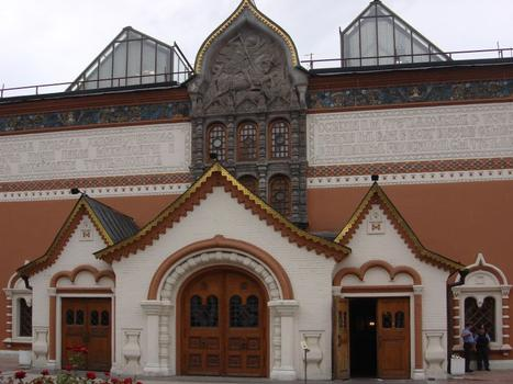 The Tretyakov Gallery in Lavrushinsky Alley, Moscow