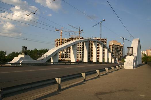 Serebjany-Bor-Brücke, Moskau