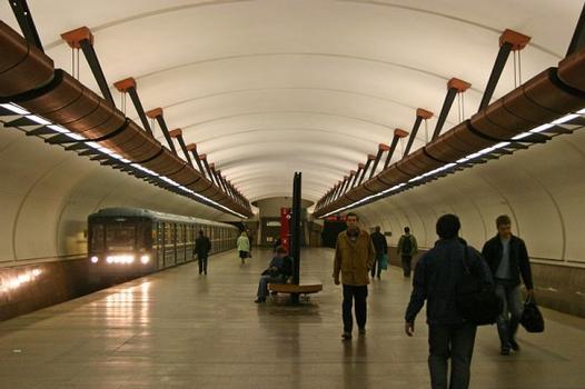 Kozhukhovskaya metro station, Moscow