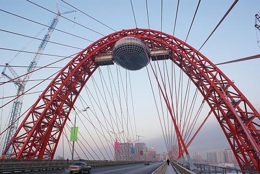 Serebyany Bor Bridge, Moscow open 30.12.07