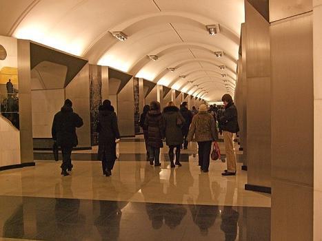 Station de métro Sretensky Boulvar à Moscou