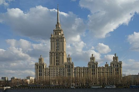 Hotel Ukraina, Moskau