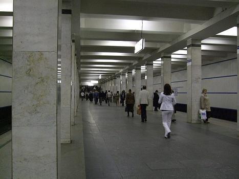 Akademicheskaya Metro Station