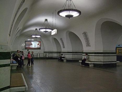 Metrobahnhof Alexejewskaja