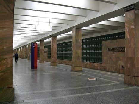 Metrobahnhof Bitzewsky Park