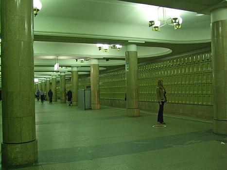 Yasenevo metro station , Moscow