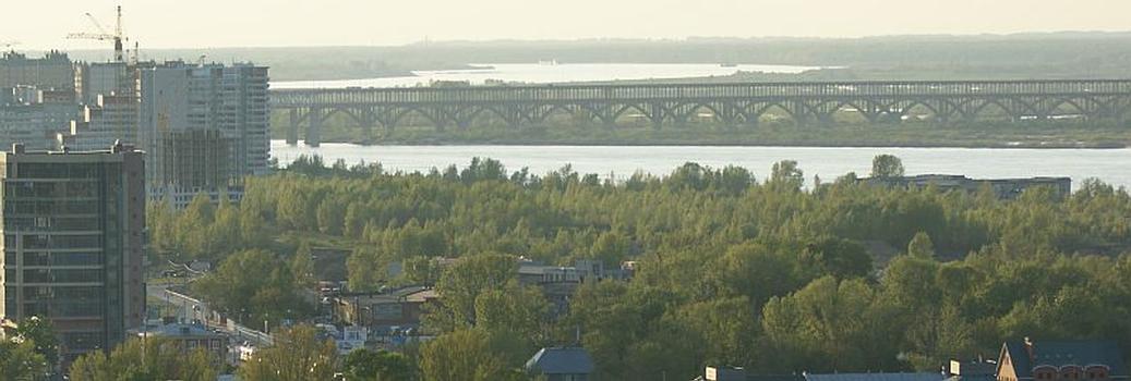 Borsky-Straßenbrücke & Borsky-Eisenbahnbrücke