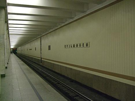 Metrobahnhof Kuzminki