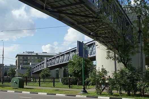 Third Ring Pedestrian bridge, Moscow