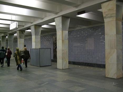 Metrobahnhof Warschawskaja