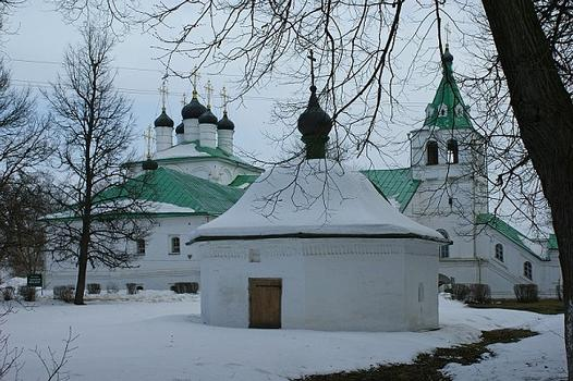 Uspenskaya Church 16th–17th centuries. Alexsandrovskaya sloboda. Alexsandrov, Vladimirskaya Oblast, Russia
