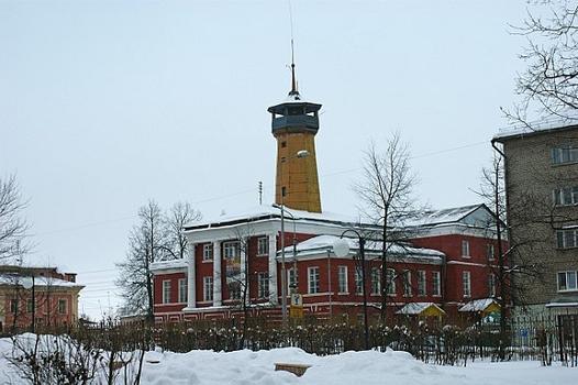 Fire station 1900, ul. Yroslavskay, Uglich, Yaroslavl Oblast, Russia