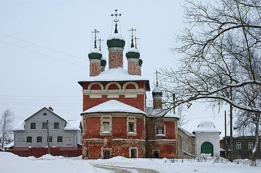 Church of Our Lady of Smolensk 1700, The Epiphany monastery, Uglich, Yaroslavl Oblast, Russia
