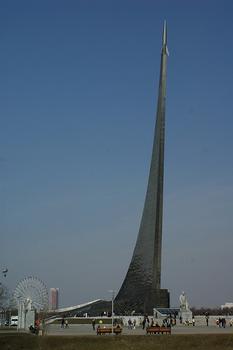 Denkmal für die Eroberer des Weltraums