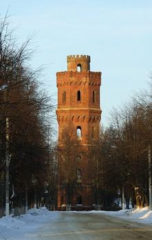 Water Tower 1914, Zaraysk, Moscow Oblast, Central Federal District, Russia, Europe