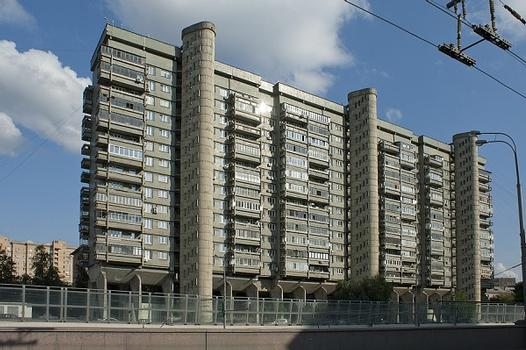 apartment house 1978 A.Meerson Moscow, Leningradsky prospect 31