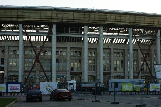 Stadium reconstruction Luzhniki. Uvilicheny quantities of places