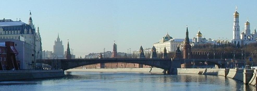 Bolshoy Moskvoretsky most, Moskau
