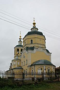 church Ilii Proroka 1748, ul. Volodarskogo, Serpukhov, Moscow Oblast, Central Federal District, Russia