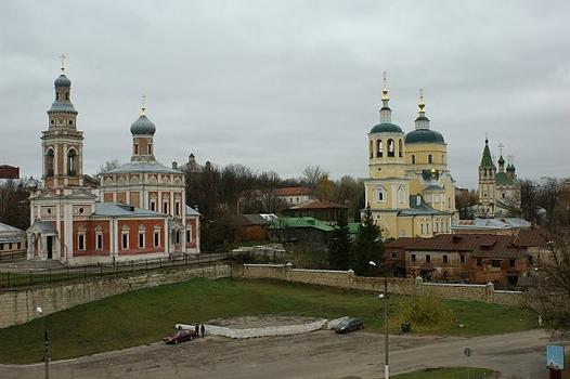 church Uspenia 1854, ul. Volodarskogo, Serpukhov, Moscow Oblast, Central Federal District, Russia