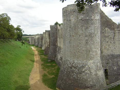 Stadtmauern in Provins