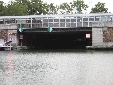 Canal Saint-Martin – Voûtes du canal Saint-Martin