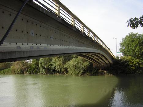 Pont d'Esbly (77) sur la Marne (Pont de la Libération)