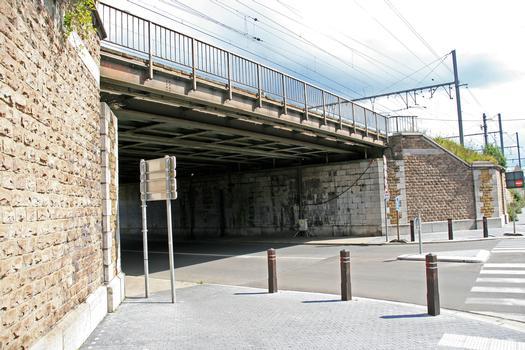 Pont ferroviaire des Aguesses, Liège