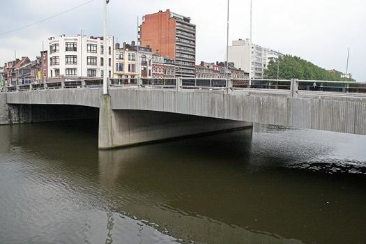 Liège, pont Amercoeur (amont)